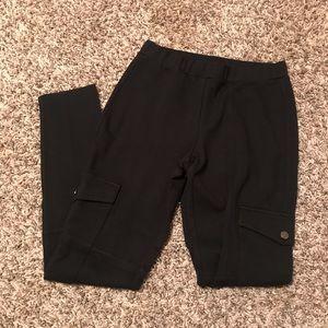 Loft brand thick black legging size small